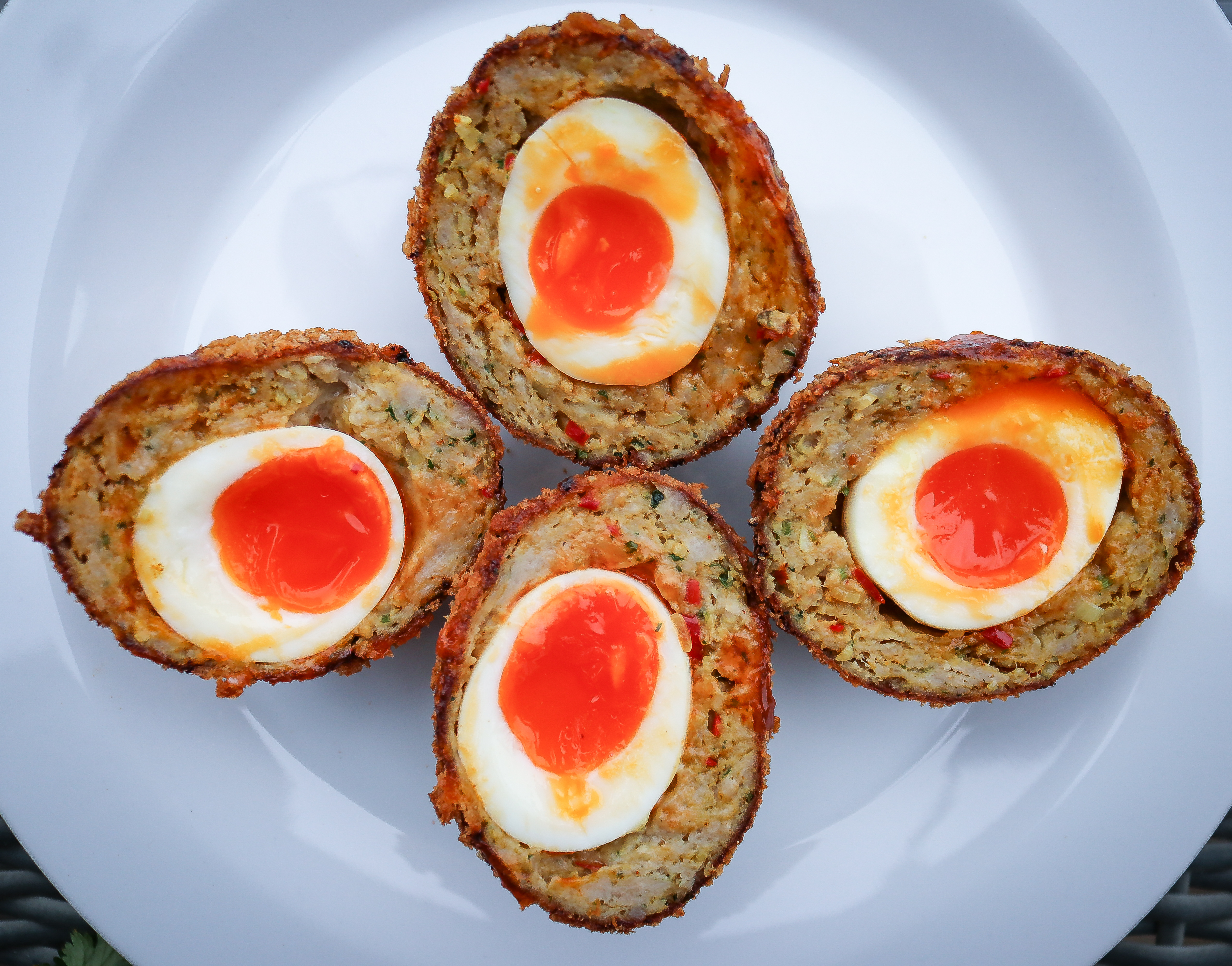 Curried Scotch Eggs