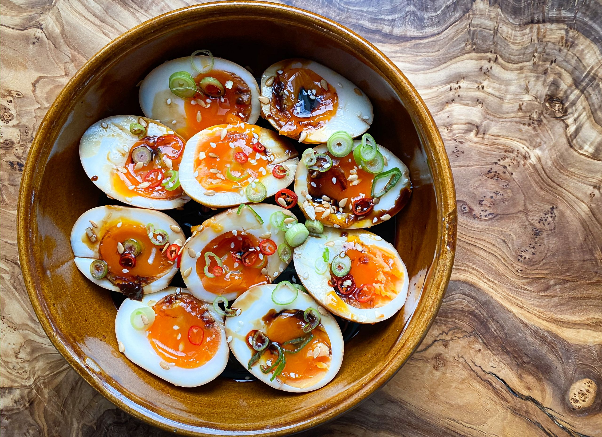 Soy Eggs
