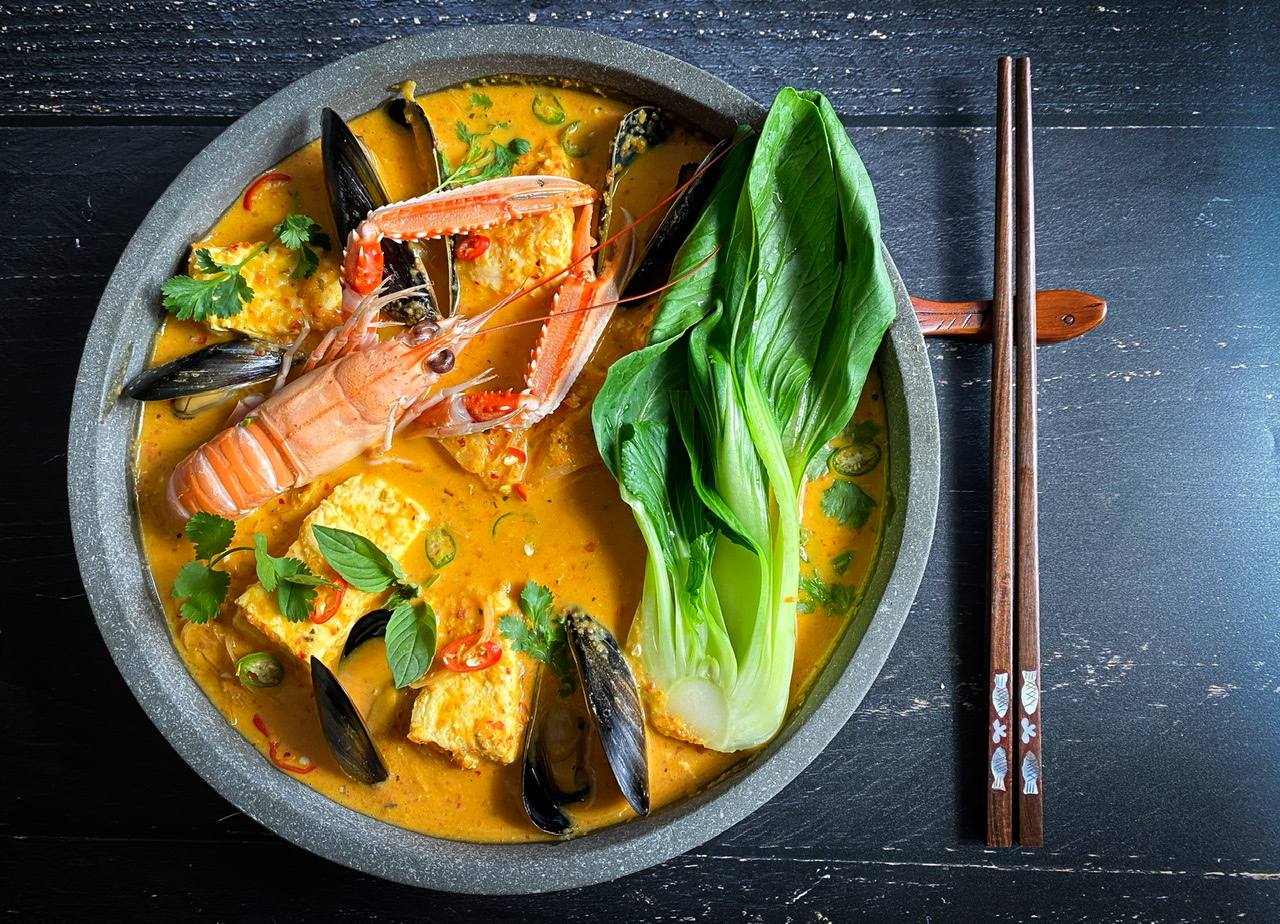 Thai Red Seafood Curry